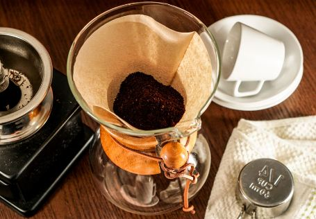 How to make a coffee filter